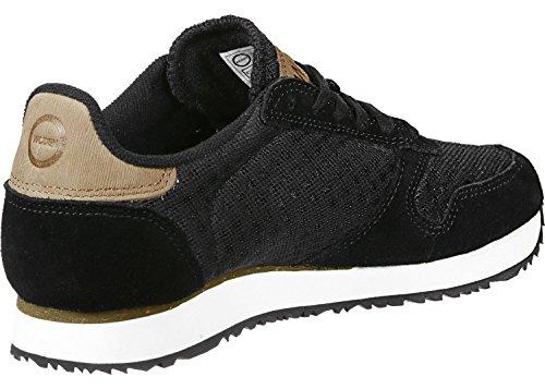 Sneaker Da Donna In Pelle Scamosciata Ydun Woden Nero Nero (nero)