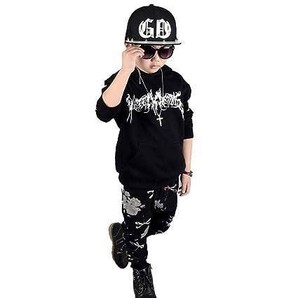2019 (3-12 años) Chándal de niño con jersey de manga larga vestido ...