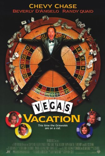 Chase Movie Poster - (27x40) Vegas Vacation Movie Chevy Chase Beverly D'Angelo Randy Quaid Original Poster Print