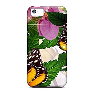 Iphone Case - Tpu Case Protective For Iphone 5c- Miracle Of Bright Colors