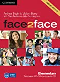 Face2face Elementary Testmaker CD-ROM and Audio CD, Anthea Bazin and Vivien Berry, 1107609941