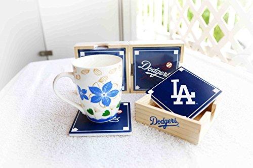 Los Angeles Dodger Coaster Set 5/27/15 - Coasters Collectible