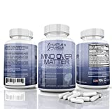 Mind Over Matter Nootropic Brain Supplement, Increase Energy, Boost Willpower, Elevate Mood Capsules, 60 Count