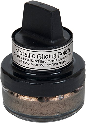 Creative Expressions CSMGCHOC Metallic Gilding Polish, Chocolate Bronze