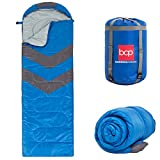 Cheap Best Choice Products 4-Season Water-Resistant 20F Portable Envelope Sleeping Bag Compression Sack Carrying Case