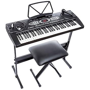 Yamaha Piaggero NP12 Portable Digital Piano, Black. Loading zoom
