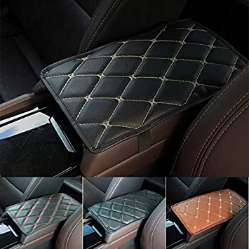 SUV Waterproof Armrest Cover Center Console Pad Car Car Armrest Seat Box Cover Protector RENNICOCO Universal Center Console Cover for Most Vehicle Truck