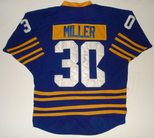 Ryan Miller Autographed Jersey (Sabres) (Autographed Ryan Miller)