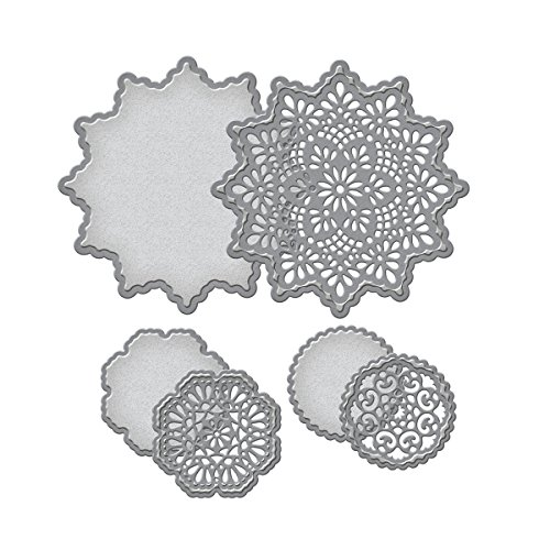 Spellbinders S5-205 Delicate Doilies Etched/Wafer Thin Dies