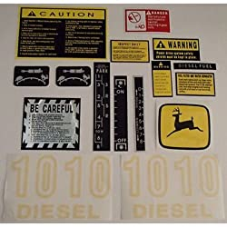 JD1010 New Hood & Safety Decal Set made to fit