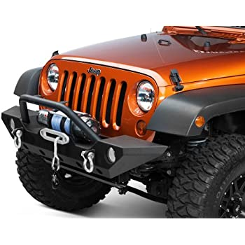 Amazon Com Barricade Trail Force Hd Front Bumper Jeep