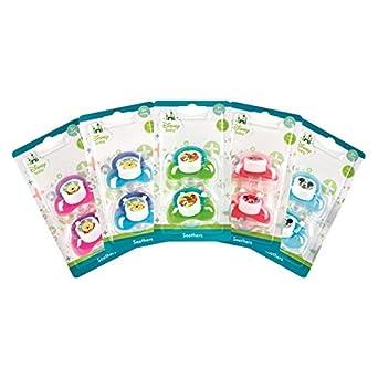 Stalwart b-05172-xx Disney bebé chupetes (Pack de 2): Amazon ...