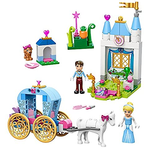 LEGO Juniors Cinderella's Carriage 10729 Toy for 4-Year-Olds (Lego Junior Princess)