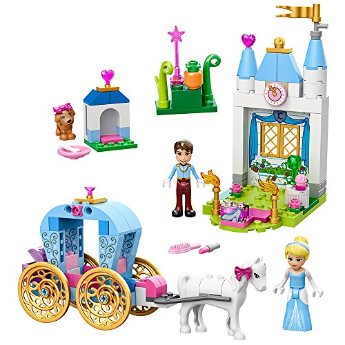 LEGO Juniors Cinderella's Carriage 10729 Toy for 4-Year-Olds (Cinderella Disney Carriage)