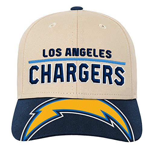 - Outerstuff NFL NFL LA Chargers Youth Boys Retro Style Logo Structured Hat Dark Navy, Youth One Size