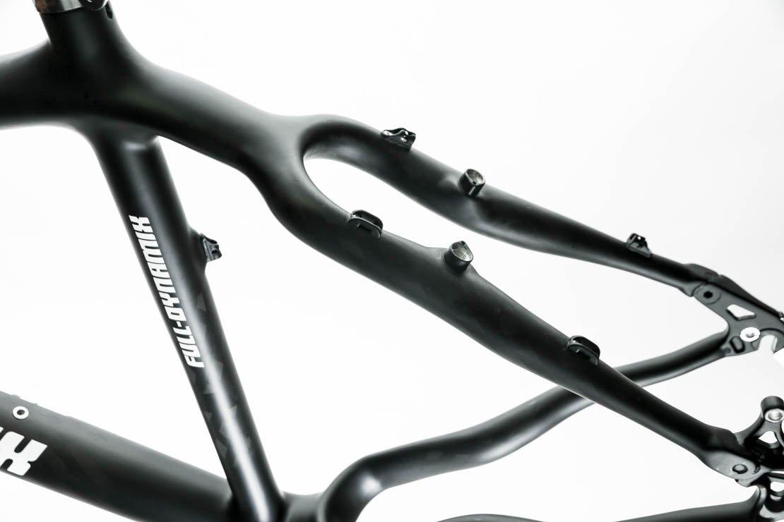 Italian Full Dynamix Moon 21'' Carbon Fiber 26 Hardtail Bike Frame MSRP $1999 NEW by Full Dynamix (Image #3)