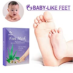 Say goodbye to foot files, razors, pumice stones, and harsh chemicals that only offer a temporary fix. With our foot peeling mask an easy-to-use home remedy you'll achieve softer, smoother feet.       IMYNIYE FOOT MASK IS YOUR BEST CHO...