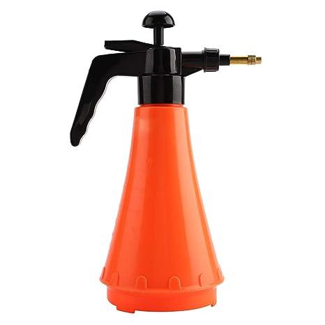 Pulverizador manual, botella portátil de 1L Pulverizador manual de agua a presión Bomba portátil de jardín Plantación Jardinería Herramienta de riego ...