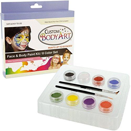 Custom Body Art Rainbow Painting