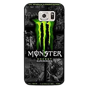 Samsung Galaxy S7 Case Shell,Hybrid Fim World Champion Design Drinking Monster Energy Phone Case Cover for Samsung Galaxy S7