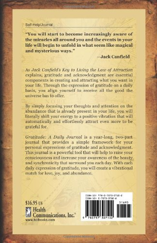 gratitude a daily journal jack canfield d d watkins