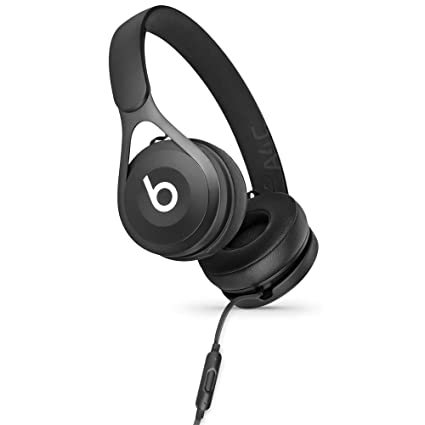 79ca0d185f9 Amazon.com  Beats by Dr. Dre EP On-Ear Headphones - Black (Renewed)  Cell  Phones   Accessories