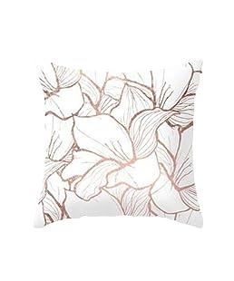 wintefei Throw Pillow Case Geometric Striped Flower Home Sofa Cushion Cover?-5#