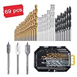 Best Drill Bits For Metals - HARVET 69-Piece Drill Bit Set for Metal Wood Review