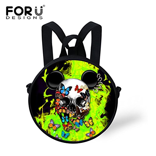 Bag Cute for Bag FunnyPrint Round Print V6lca5394i Women Crossbody Round 7wxqFag