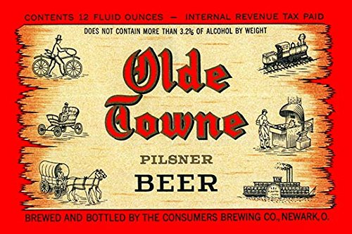 (Buyenlarge Olde Towne Pilsner Beer - Gallery Wrapped 44