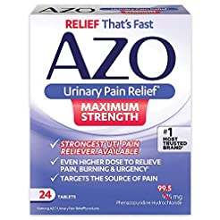 AZO Urinary Pain Relief Maximum Strength...