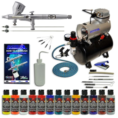 Master Multi-Purpose Deluxe Precision High Detail Control Master Airbrush ()