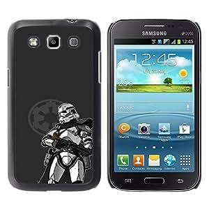 EJOY---Cubierta de la caja de protección la piel dura para el / Samsung Galaxy Win I8550 / --Estrella Trooper