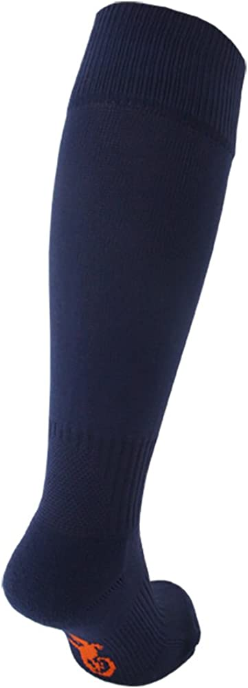 Twin Pack STAY UP Kid/'s Sports Socks 2 Pairs with Stay On Technology Navy