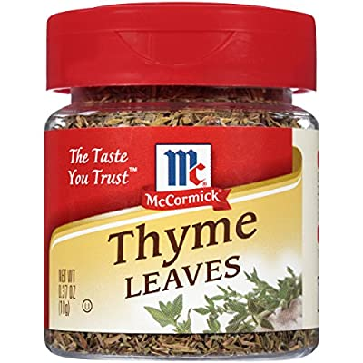 McCormick Thyme Leaves, 0.37 oz by McCormick & Co