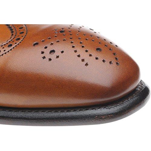 Aringa Gladstone II brogue in castagno polpaccio, marrone (Chestnut Calf), 44 EU