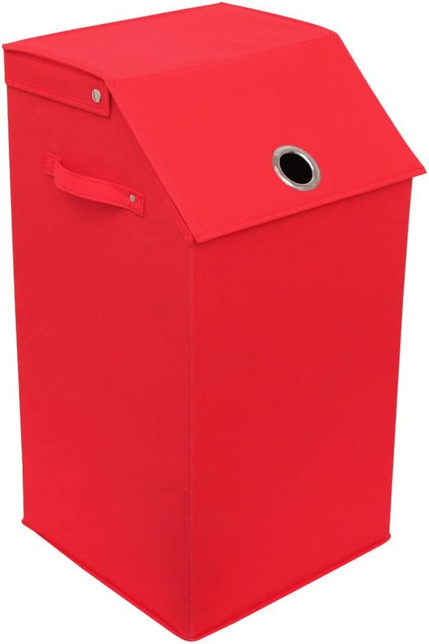 Redmon 5420RD Flip Top Laundry Hamper