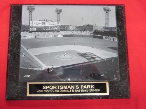 (Sportsmans Park St Louis Cardinals Browns Collector Plaque w/8x10 Photo!)