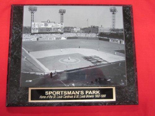 Sportsmans Park St Louis Cardinals Browns Collector Plaque w/8x10 Photo!