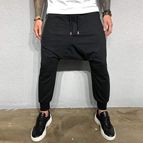 メンズの新しいフィットネスパンツサスペンションフィットネスレジャーファッション快適なズボン