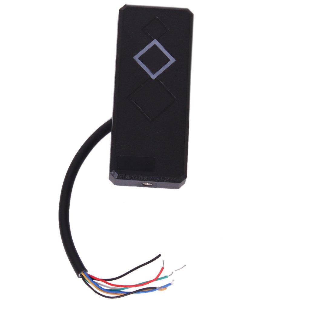 Wasserdicht Security Door Black ID Wiegand 26 RFID Card Reader Leser Codeschloss Unbenkannt