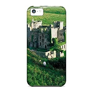 USMONON Phone cases Hot New Castle Case Cover For Iphone Iphone 5c With Perfect Design