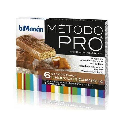 Barritas De Chocolate Y Caramelo 6 Barritas de Bimanan: Amazon.es: Salud y cuidado personal