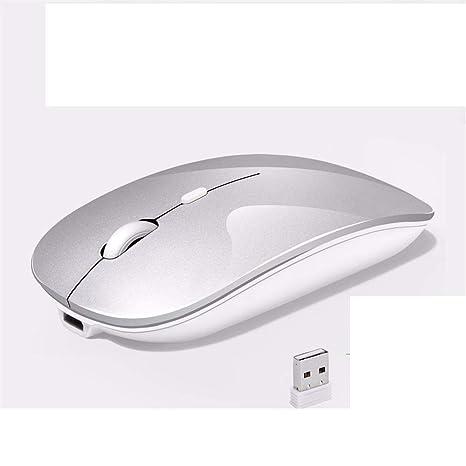 MC-xy Carga Inalámbrica Mouse Light Mute Silent Photoelectric Girl Ordenador portátil de Oficina Juego