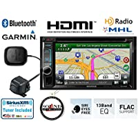 Kenwood DNX692 6.1 DVD Navigation Receiver with CMOS-220 Backup Camera and SiriusXM Tuner and Antenna and a FREE SOTS Air Freshener