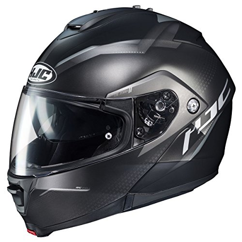 - HJC Helmets IS-MAX 2 Modular Helmet - Dova (X-LARGE) (BLACK/SILVER)