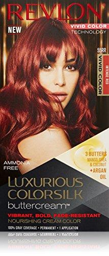 Revlon Luxurious Colorsilk Buttercream, Vivid Intense Red