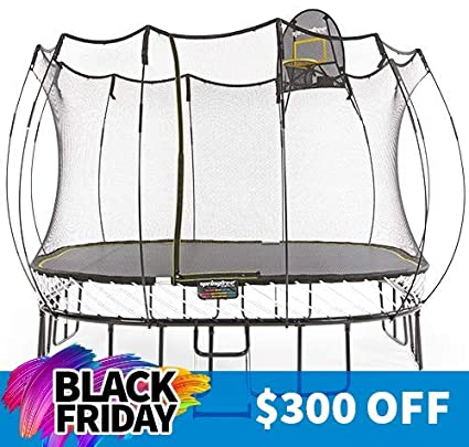 Springfree Trampolines-Springless Trampolines with Safety Enclosure- Best Springless Outdoor and Backyard Trampoline