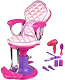 Click N Play Doll Salon Chair And Accessories. Perfect For 18 Inch American Girl Dolls