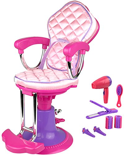 alon Chair and Accessories for 18 inch American Girl Dolls ()